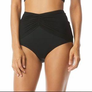 Coco Reef,black high waist bikini swim.size small.
